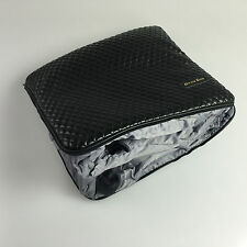 11x13 32002 Luxury Cushion Blanket Black PVC Leather Lexus Bmw Audi Porsche Benz