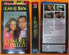 film VHS L'ONORE DEI PRIZZI Jack Nicholson  CARTONATA SIGILLATA  (F30*)  no dvd
