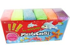PLASTOCOOLKI -  6pack - Foam Clay, Soft Modelling Clay - MEGA FUN