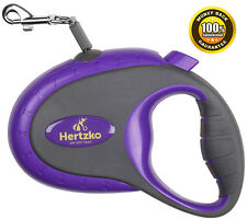 Retractable Leash By Hertzko, Great for Small & Medium Dogs up to 44lbs