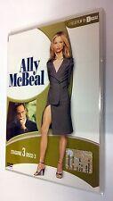 Ally McBeal serie televisiva stagione 3 vol. 3 DVD 3 episodi dura 180 minuti