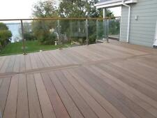 90 x 19mm Ipe Smooth Hardwood Contemporary Garden/Patio Decking/Deck Boards