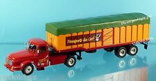 Camion WILLEME LC 610 T de 1952 semi remorque 32cm ixo truck drags outback NEUF