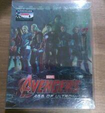 Avengers Age of Ultron Steelbook 3D+2D Blu-ray Blufans Lenticular