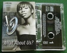 Brandy What About Us? Cassette Tape Single TESTED