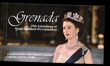 Grenada 1978 SG#SB2 Coronation 25th Anniv Stamp Booklet FDI MNH #C37480