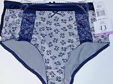 2 pack Black BOW  BB5433S  Brief Panties Size 1X NWT $28