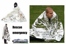 New Silver Emergency Blanket Survival Rescue Outdoor Life-saving Tent Military