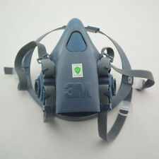 Respirator Painting Spraying Gas Half Face Mask Set Protective Suit For 3M 7502