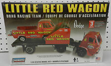 LITTLE RED WAGON VAN TRUCK TEAM  RACE DRAG DODGE BOYS MOPAR LINDBERG MODEL KIT