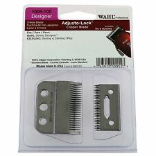 Wahl 3-Hole Adjusto- Lock Blade for Designer 8355 Senior 8500 Clippers #1005-100