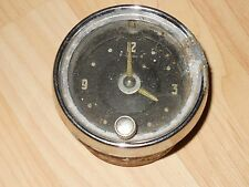 ANTIQUE VINTAGE AUTOMOBILE CLOCK 1952 WESTCLOX LA SALLE ILL. USA