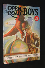 1935 The Open Road For Boys June (Fine)