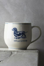 Anthropologie Dachshund Weiner Dog ICON MUG Molly Hatch Coffee Cup * Great Gift