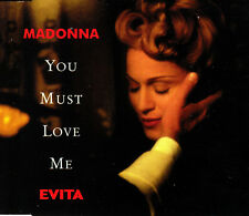 Madonna ‎– You Must Love Me MCD 1996 Promo