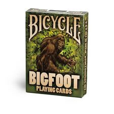 BIGFOOT BICYCLE DECK OF PLAYING CARDS BY USPCC POKER SIZE MAGIC TRICKS COLLECTOR