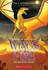 Wings of Fire: The Brightest Night 5 by Tui T. Sutherland (2015, Paperback)