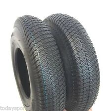 TWO 4.80-4.00-8 480/400-8 Riding Lawn Mower Garden Tractor Turf TIRES 4 PLY RATE