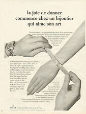 Publicité Advertising 1965  Montre ROLEX ... Oyster Day Date