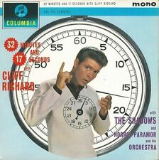 CLIFF RICHARD AND THE SHADOWS 32 Minutes And 17 Seconds LP Columbia 33SX 1431