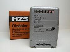 Braun Ölzähler HZ 5 Heizölzähler Öl Zähler -SONDERPREIS-