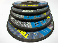 Toolzone AB027 metal cutting discs pack of 5 for cutting metal NEW