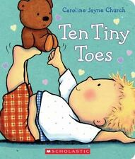 Ten Tiny Toes-ExLibrary