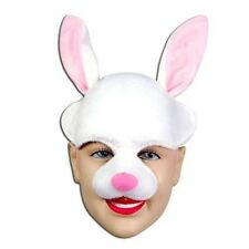 Bunny Rabbit Half Face Easter Fancy Dress Accessory Animal Mask P975