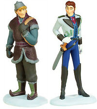 KRISTOFF & HANS Figure Set WALT DISNEY Movie FROZEN PVC TOY Cake Topper FIGURINE