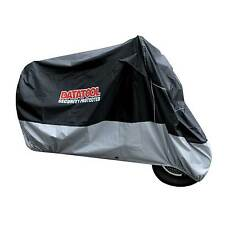 Datatool Motorcycle/Motorbike Waterproof Security Cover In Black/Grey - Large