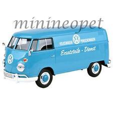 MOTORMAX 79556 VW VOLKSWAGEN TYPE 2 T1 DELIVERY VAN 1/24 PORSCHE SERVICE BLUE