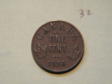 1928 Canada one cent,  penny