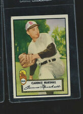 1952 TOPPS #174 CLARENCE MARSHALL EX Front, pencil on back