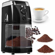 Secura SCG-903B Automatic Electric Burr Coffee Grinder Mill Black
