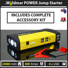 Wuldmar™ POWER 22880mAh Jump Starter Battery Charger Power Bank✔600AMP✔4xUSB
