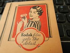 JOHN SAVILLE KODAK DEALER YORK ART DECO FOLDER FOLIO  CAMERA PHOTOGRAPHER c