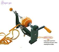 Fruit Peeler Orange Potato Apple Vegetable Peel Remover Machine Counter Top Hand