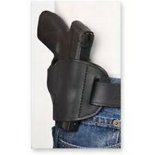 Black Bulldog Leather OWB Belt Gun Holster for Ruger P-80,P-85,P-89,P-90