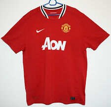 "EXCELLENT! MANCHESTER UNITED HOME SHIRT 2011/2012 XXL  50 - 52"" 11/12 MAN UTD"