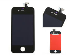 For iPhone 4 CDMA BLACK Front Screen Touch Digitizer LCD Display Assembly GAGD