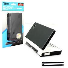 Nintendo DSi Aluminum Armor Case & Dual Stylus Set - Cosmo Black