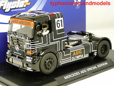 FLY F202309 Mercedes-Benz Racing Truck - AEG - Limited Edition - New & Boxed