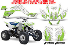 Amr racing decoración Graphic kit ATV suzuki ltz 400 a partir de 2009+ tribal Flame entregará la mercancía
