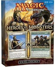 Magic the Gathering MTG - Heroes vs Monsters Factory Sealed Duel Deck