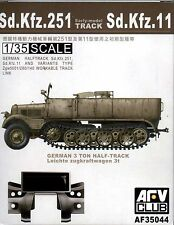 AFV Club 1/35 AF35044 WORKABLE Track Link for Sd.Kfz.251 Sd.Kfz.11 Early Model