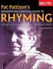 Berklee Pat Pattisons Songwriting Essential Guide To Rhyming 2nd Ed Book NEW!