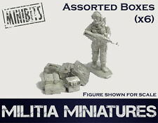 28mm Modern Wargames / Roleplaying - Militia Miniatures - Boxes