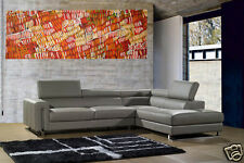 200cmx 80 LARGE oil painting canvas aboriginal art  great colours jane crawford