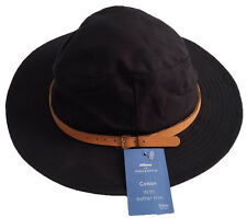 MARKS & SPENCER NAVY SUN HAT TEFLON MENS BUSH SIZE LARGE 59-60CM EURO 4 M&S