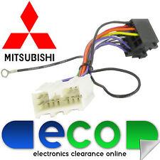 Mitsubishi Colt 1996 - 2008 Car Stereo Radio ISO Harness Lead Loom T1 Audio